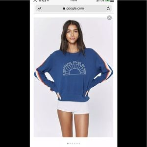 NWT Spiritual Gangster GRATEFUL Crop Sweatshirt S